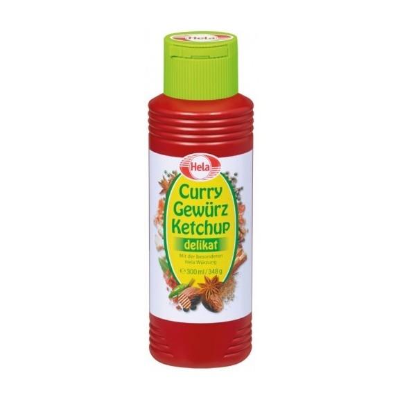 Hela Gewurz Ketchup Curry Delikat 300 ml/348g