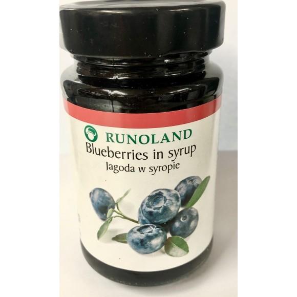 Runoland Blueberries in Syrup 230g/8.11 oz
