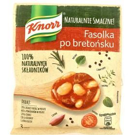 Knorr Beans in Tomato Sauce (Fasolka Po Bretonsku) Seasoning 1.51oz/43g