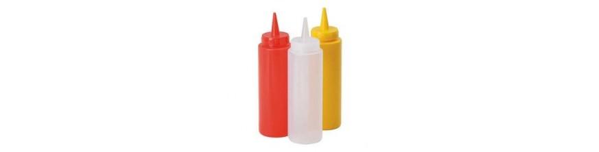 Ketchup, Mustard, Mayo, Horseradish